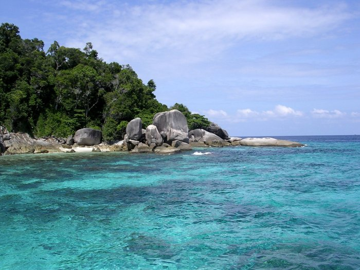 Beautiful Similan Islands