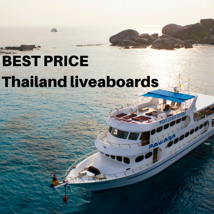 THAILAND LIVEABOARD LAST MINUTE BEST PRICE