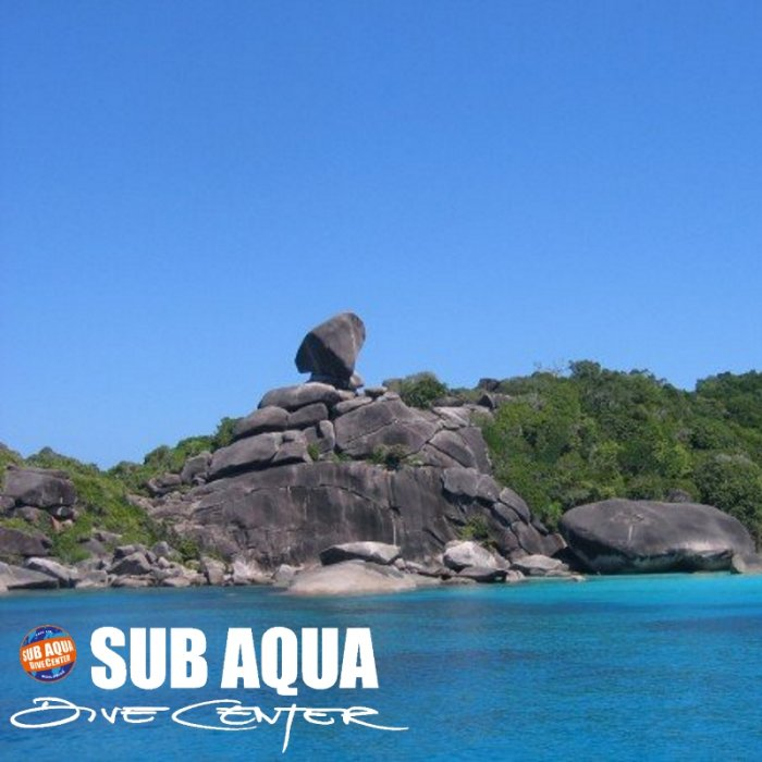 Similan Island Dive Sites - Donald Duck Bay
