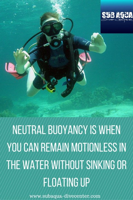 Buoyancy Basics Part 2: Positive or Negative?